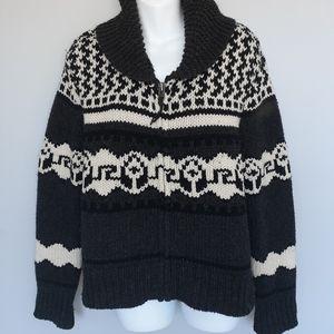 TNA Wool zip up